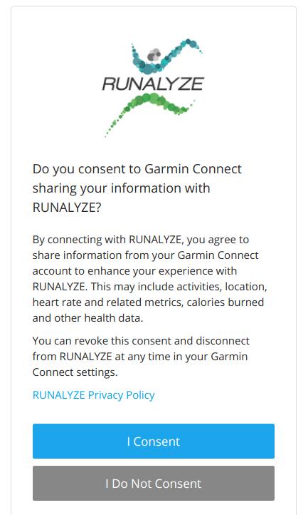 Tutorial: Connect with Garmin | Runalyze Blog